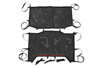 Jeep Wrangler JL Unlimited Mesh Bikini Top Plus (18-20 4-Door | Black)