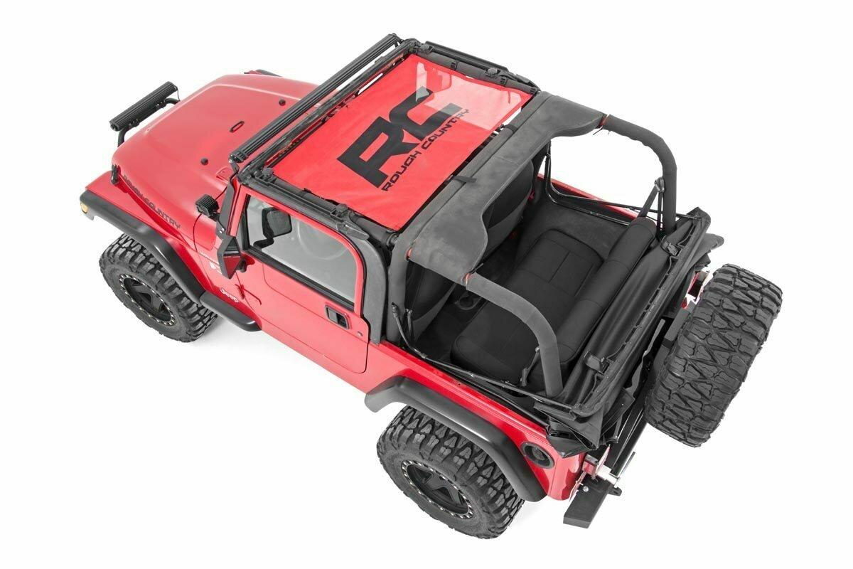 Jeep Wrangler TJ Mesh Bikini Top (97-06 | Red)
