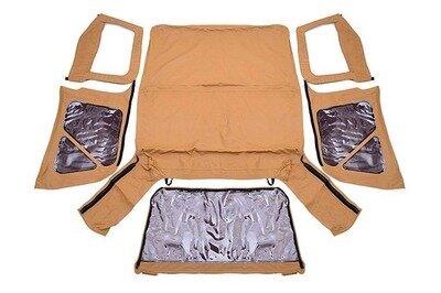 Jeep Replacement Soft Top | Spice (97-06 TJ Wrangler Half Steel Doors)