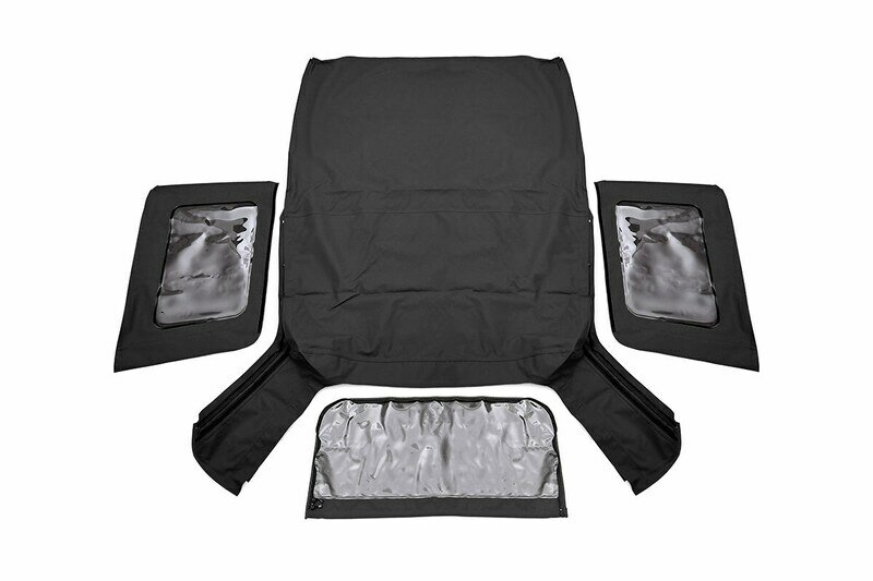 Jeep Replacement Soft Top   Black (07-09 JK Wrangler 2 Door)