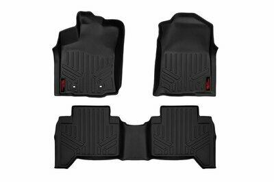 Heavy Duty Floor Mats [Front/Rear] - (16-20 Toyota Tacoma Double Cab)