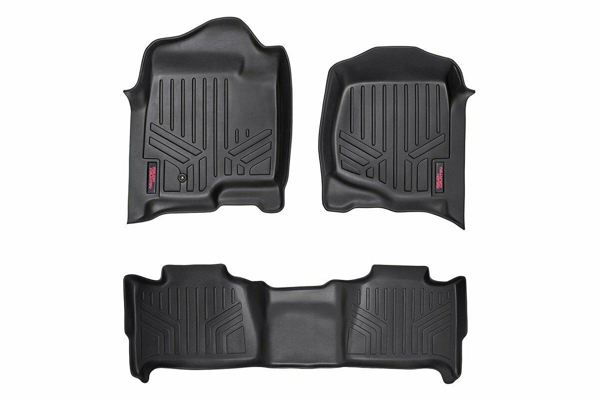 Heavy Duty Floor Mats [Front/Rear] - (07-13 Chevrolet Tahoe)