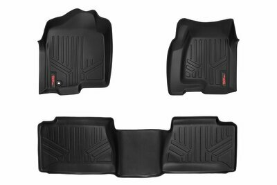 Heavy Duty Floor Mats [Front/Rear] - (99-06 Chevy Silverado / GMC Sierra Ext. Cab)
