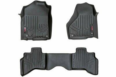 Heavy Duty Floor Mats [Front/Rear] - (02-08 Dodge Ram 1500 Quad Cab)