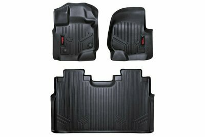 Heavy Duty Floor Mats [Front/Rear] - (15-20 Ford F-150 SuperCrew Cab)