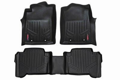 Heavy Duty Floor Mats [Front/Rear] - (07-11 Toyota Tundra Double Cab)