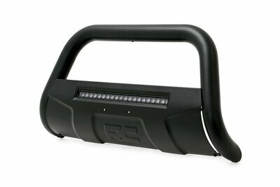 Ford 04-20 F-150 Bull Bar w/LED Light Bar (Black)