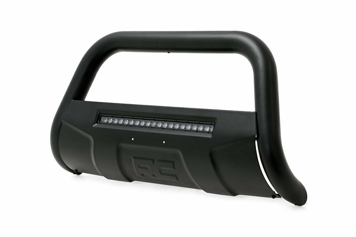 Dodge 09-18 Ram 1500 Bull Bar w/LED Light Bar (Black)