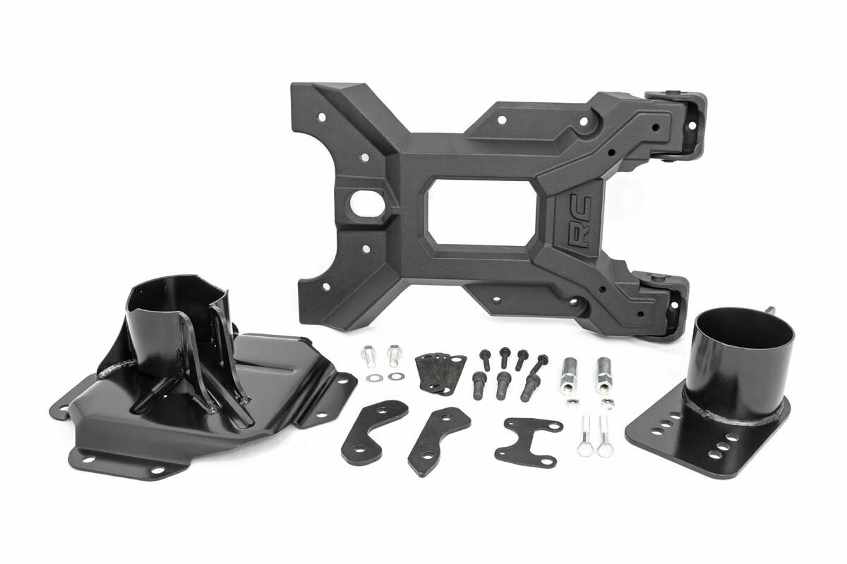 HD Hinged Spare Tire Carrier Kit (07-18 Jeep JK)