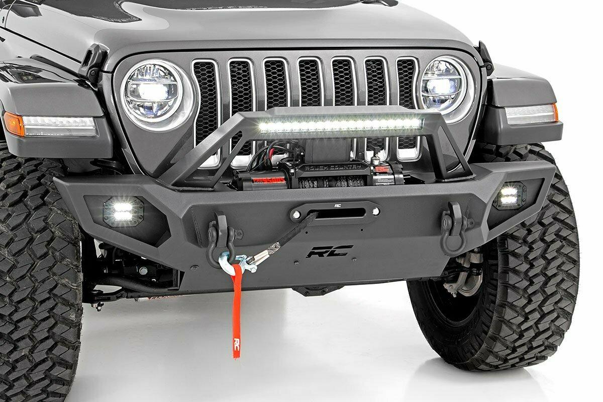 Jeep Full Width Front Trail Bumper (JK/JL/JT Gladiator)