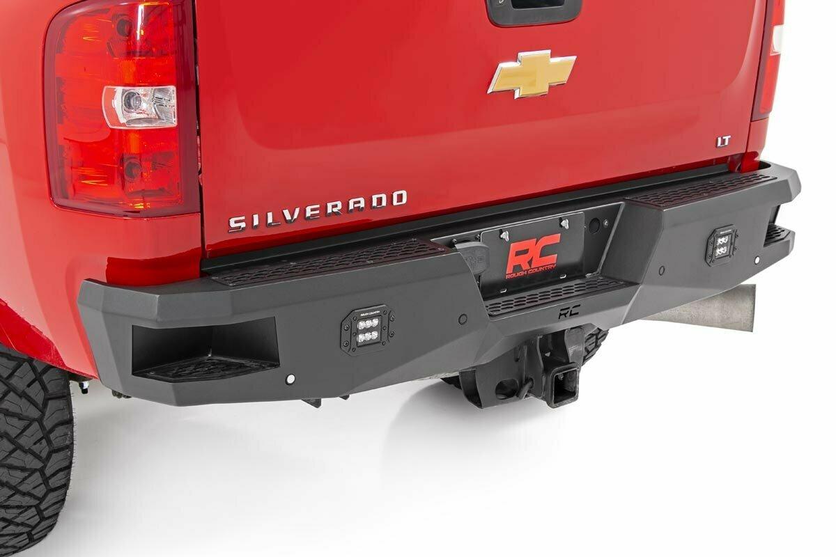 GM Heavy-Duty Rear LED Bumper (11-19 2500/3500)