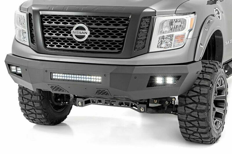 Nissan Heavy-Duty Front LED Bumper (16-20 Titan XD)