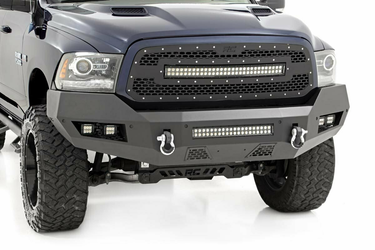 Ram Heavy-Duty Front LED Bumper (13-18 1500)