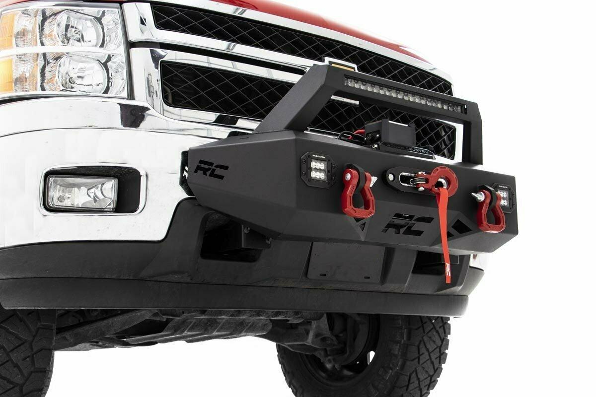 EXO Winch Mount System (11-19 Chevrolet Silverado 2500/3500)