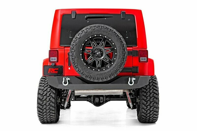 Jeep Rock Crawler Rear HD Bumper (07-18 Wrangler JK)