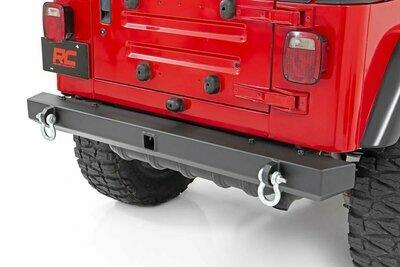 Jeep Classic Full Width Rear Bumper (87-06 Wrangler YJ/TJ)