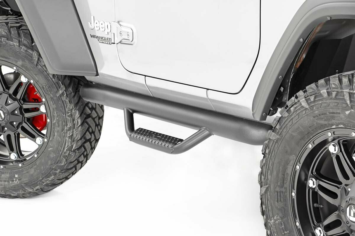 Jeep Wheel to Wheel Nerf Steps (18-20 JL Wrangler 2-Door)