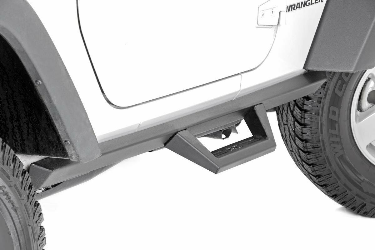 Jeep Contoured Drop Steps (07-18 Wrangler JK | 2-Door)