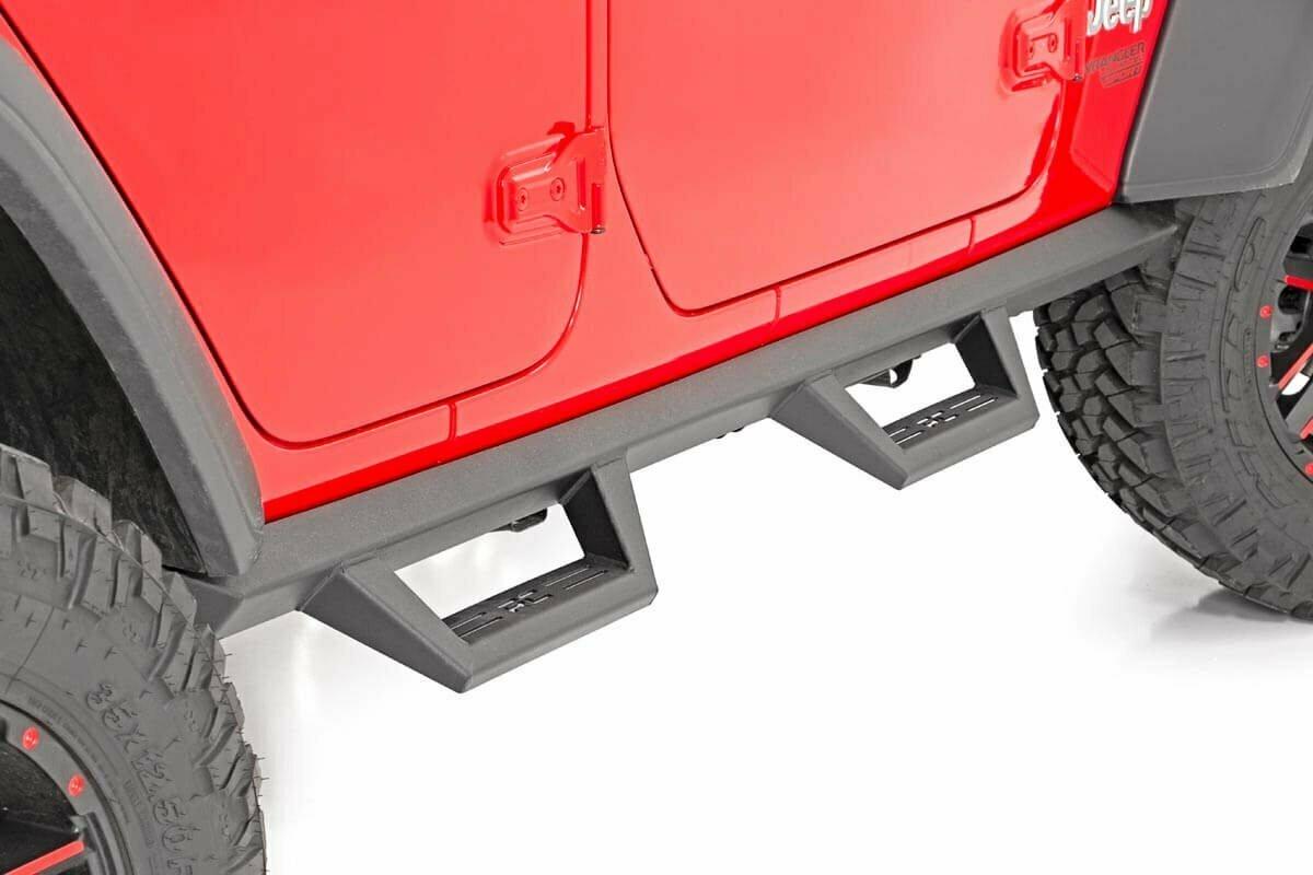 Jeep Contoured Drop Steps (18-20 Wrangler JL Unlimited | 4-Door)