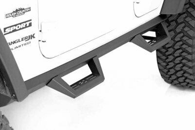 Jeep Contoured Drop Steps (07-18 Wrangler JK Unlimited | 4-Door)