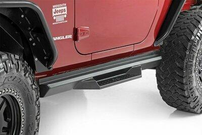 Jeep DS2 Drop Steps (07-18 Wrangler JK | 2-Door)