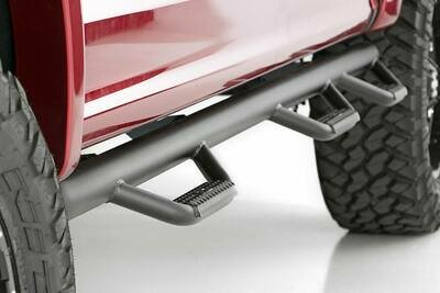 Ford Wheel to Wheel Nerf Steps w/Bed Access (15-20 F-150 / 17-20 F-250 SuperCrew/5.5ft Bed)