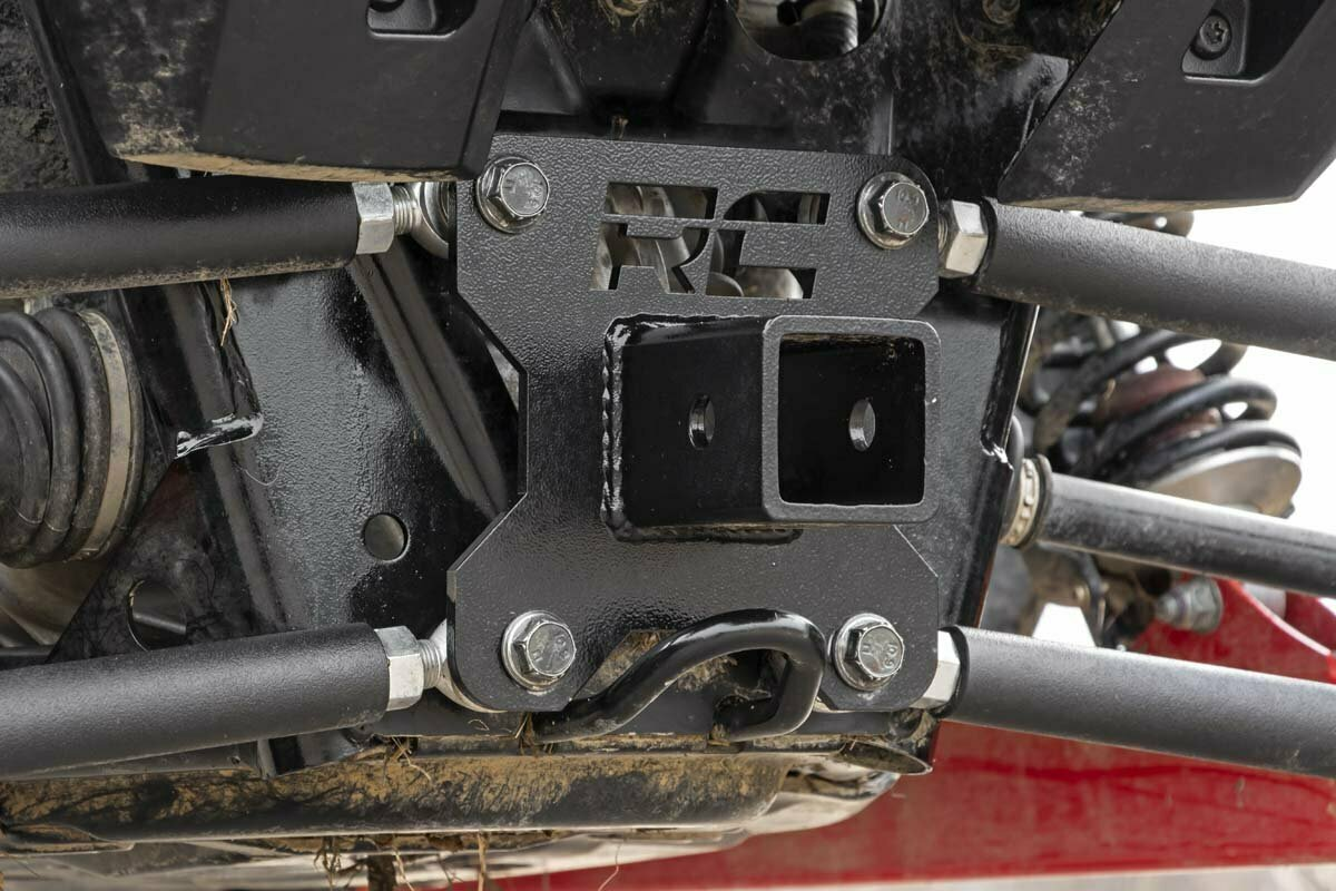 Polaris 2in Receiver Hitch Plate (14-20 RZR 1000)
