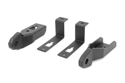 Ford Tow Hook to Shackle Conversion Kit - Mounts Only (19-20 Ranger)