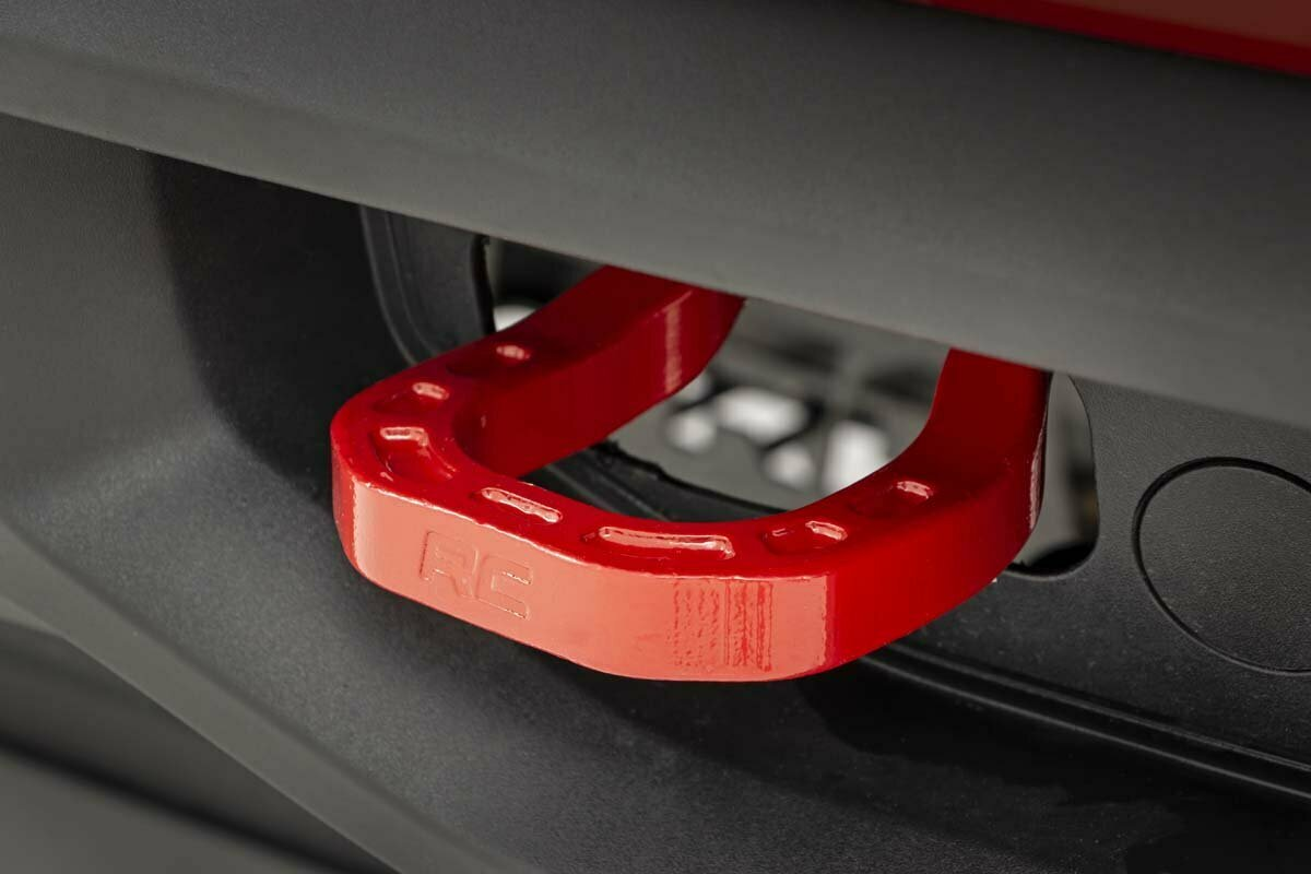 Forged Tow Hooks (19-20 Chevy 1500 | Red)