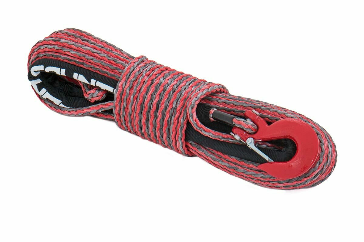 Synthetic Rope - Red / Grey Combo
