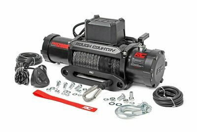 12000lb Pro Series Electric Winch | Synthetic Rope