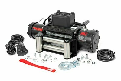 12000lb Pro Series Electric Winch | Steel Cable