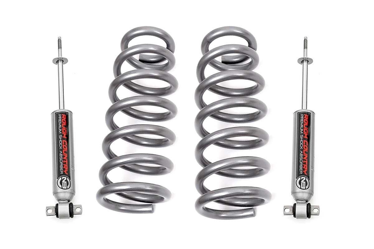 2in Dodge Leveling Coil Springs w/N3 Shocks (09-18 RAM 1500 2WD   V8 Models)