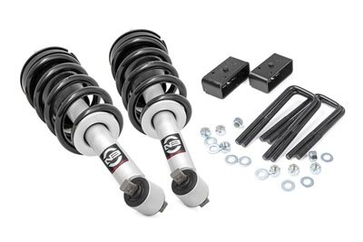 2.5in GM Leveling Lift Kit w/N3 Loaded Struts (16-18 1500 PU | Stamped Steel)