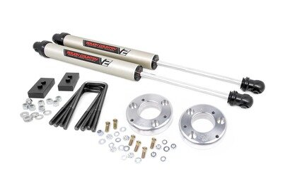 2in Ford Leveling Lift Kit w/ V2 Shocks (09-13 F-150)