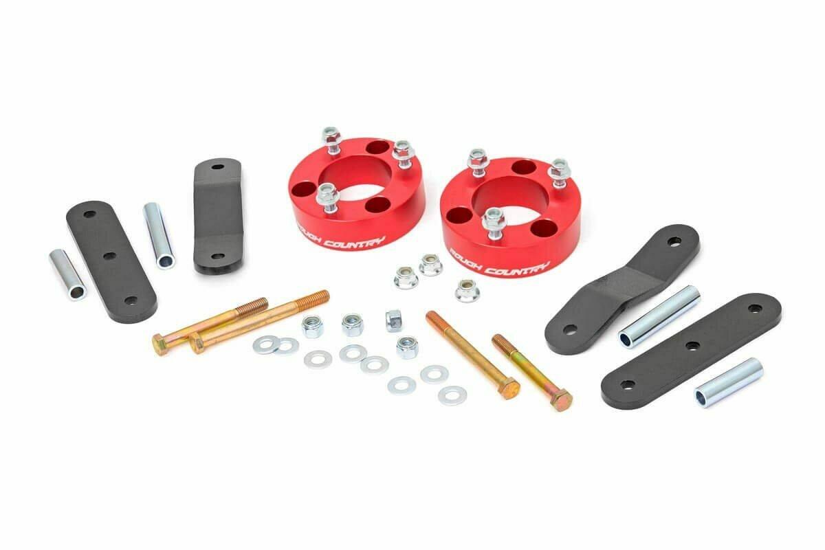2.5in Nissan Suspension Lift Kit | Red (Frontier/Xterra)