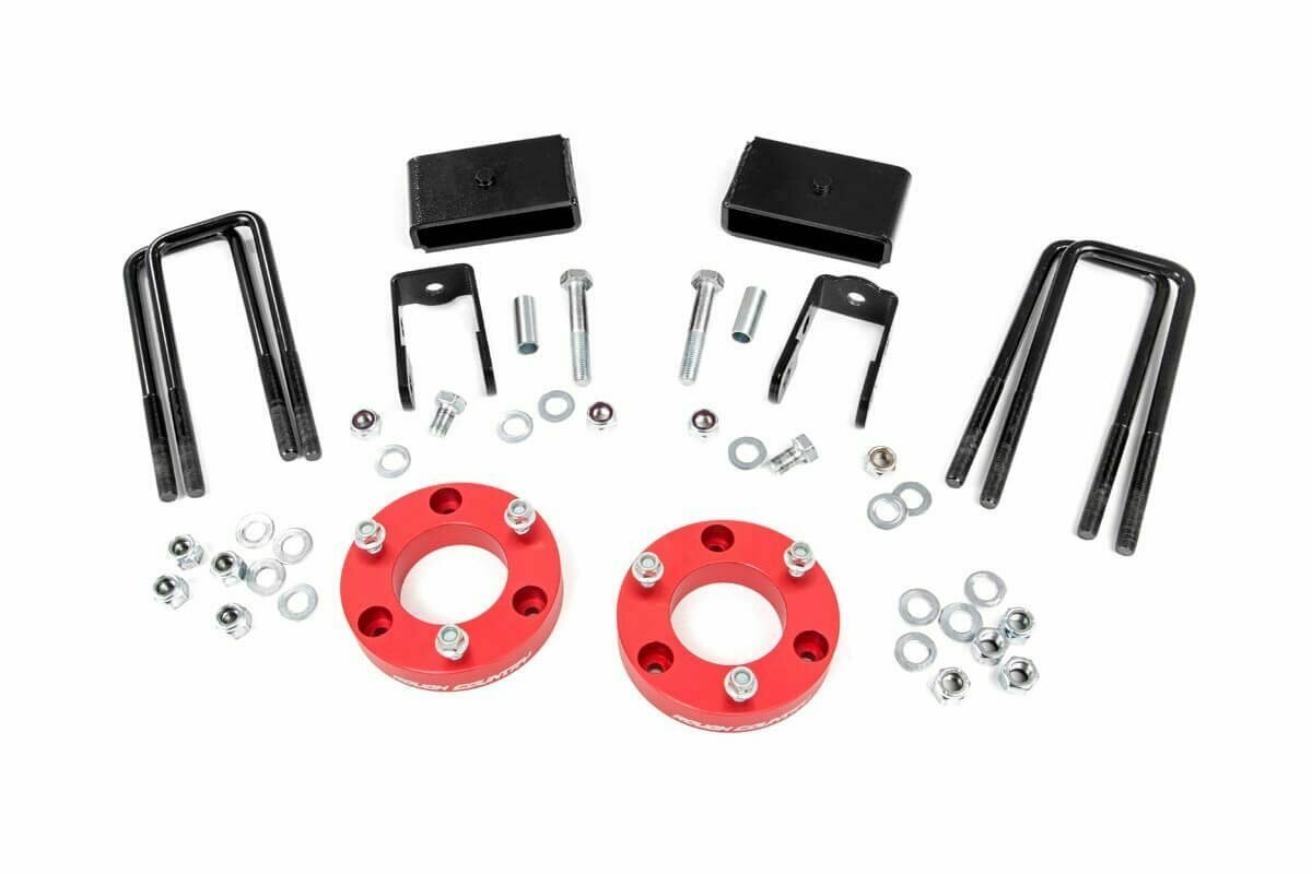 2in Nissan Leveling Lift Kit | Red (16-20 Titan XD 2WD/4WD)