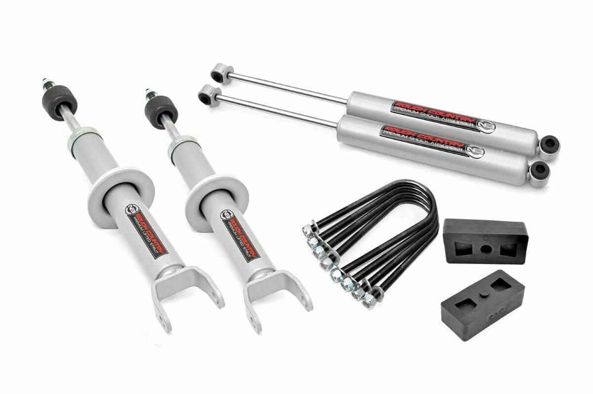 2.5in Dodge Suspension Lift Kit w/N3 Lifted Struts (06-08 Ram 1500 4WD)