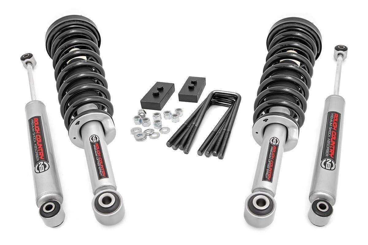 2in Ford Leveling Lift Kit | N3 Struts & N3 Shocks (09-13 F-150)