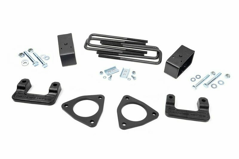 2.5in GMC Leveling Lift Kit (14-18 1500 Denali PU w/MagneRide | Cast Aluminum)