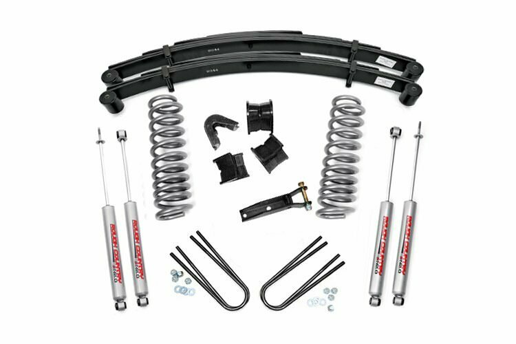 2.5in Ford Suspension Lift Kit (1970-1976 F-100 F-150 4WD)