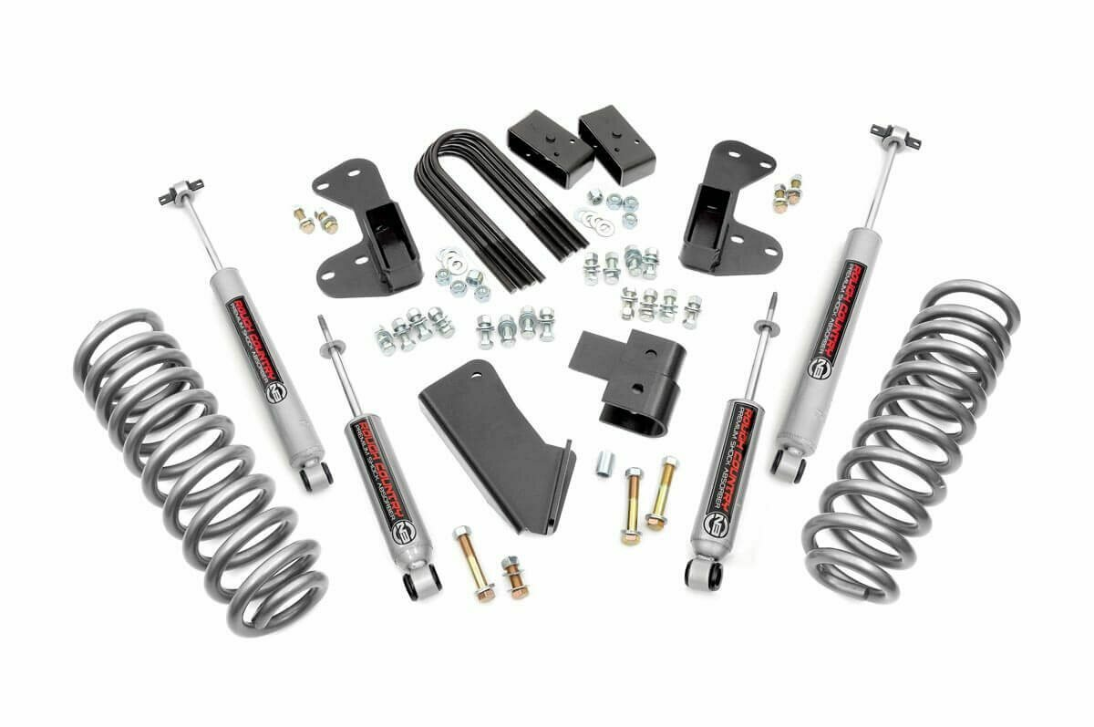 2.5in Ford Suspension Lift Kit (1980-1996 F-150 4WD)