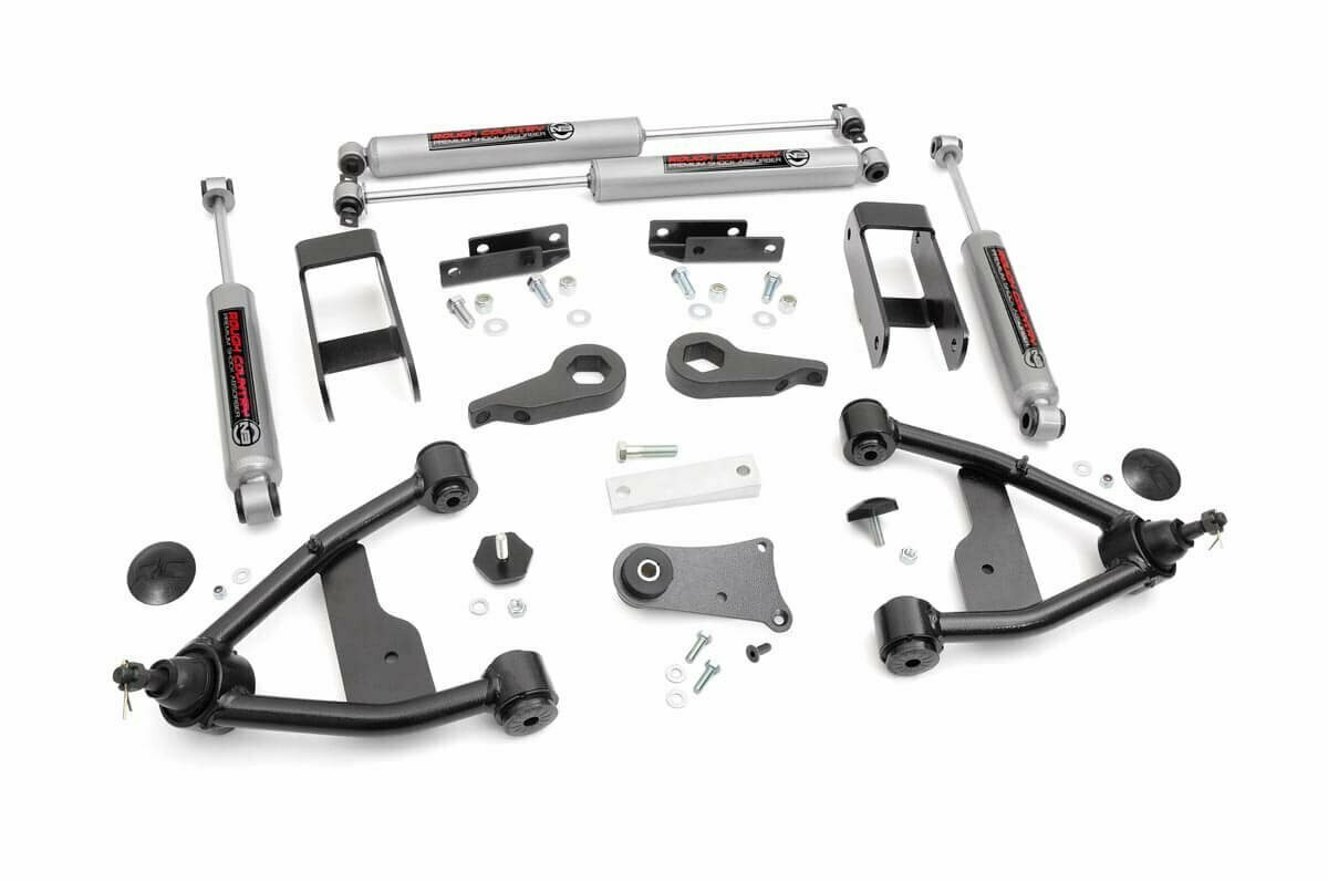 2.5in GM Suspension Lift Kit (1982-2004 Chevy S10 4WD)