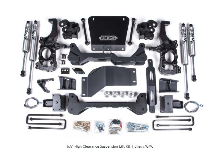 "2020 GM 2500 6.5"" BDS Lift Kit"