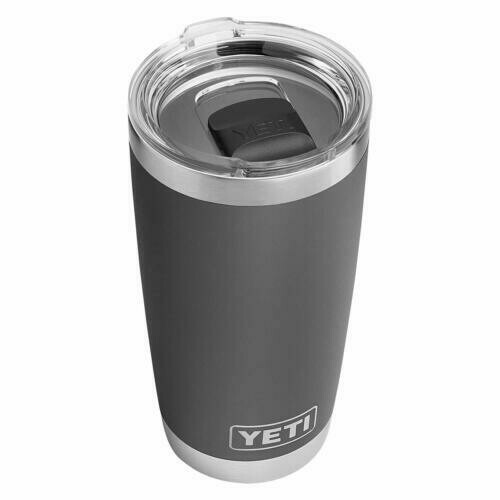 Limited 20 oz Yeti Rambler Charcoal with Mag Slider Lid
