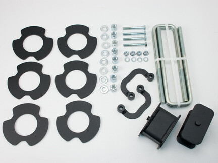 2007-2018 CHEVY SILVERADO 1500 & GMC SIERRA 1500 – 4WD 2.5″ FRONT & REAR LIFT KIT