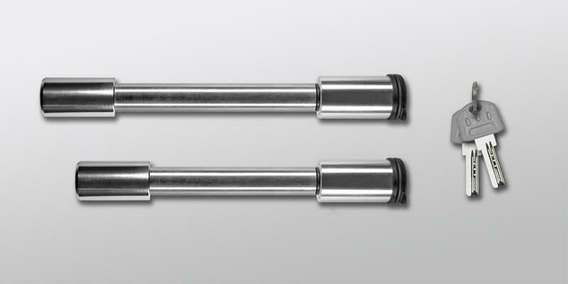 """Stainless Steel Rapid Hitch ONLY Locking Pin Set (4-3/8"""" x 5/8"""" dia., 3-1/2"""" x 5/8"""" dia.)"""