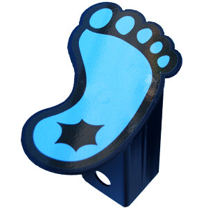 UNC Tarheels Foot Hitch Plug