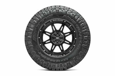 Nitto 295/60R20 Ridge Grappler w/ Rough Country Series 94  20x10 Combo (6x5.5 / 6x135)