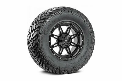 Fuel Gripper 33x12.50 M/T w/ Rough Country Series 94  20x9 Combo (5x5 / 5x4.5)